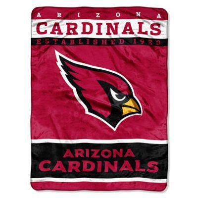 NFL Arizona Cardinals Strike Raschel Oversized Throw Blanket