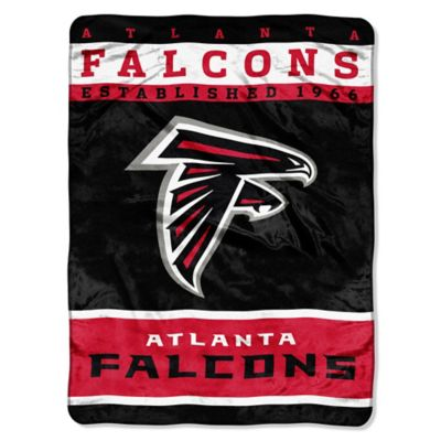 NFL Atlanta Falcons Strike Raschel Oversized Throw Blanket
