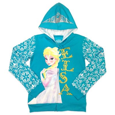 "Disney® ""Frozen"" Elsa Girls Size 4 Embellished Hoodie"