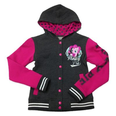 My Little Pony® Pinkie Pie Girls Size 7 Varsity Sweatshirt