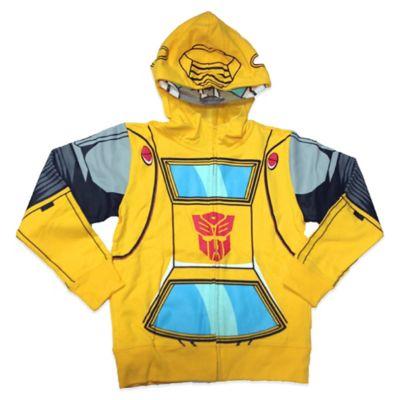 Hasbro® Transformers Bumblebee Boys Size 10/12 Costume Hoodie