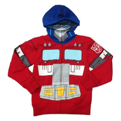 Hasbro® Transformers Optimus Prime Boys Size 14/16 Costume Hoodie