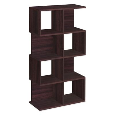 Way Basics 4 Shelf Malibu Storage in Espresso