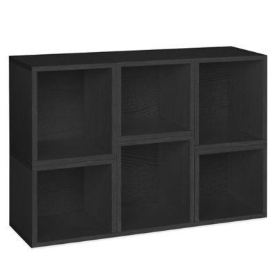 Way Basics Arlington Modular Organizer in Black (Set of 3)