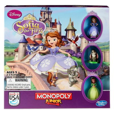 "Monopoly® Junior Disney® ""Sofia the First"" Board Game"