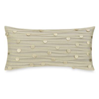 Aura Medallion Oblong Throw Pillow