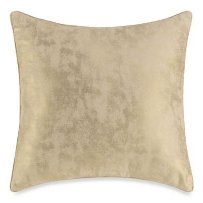 Aura Medallion Square Throw Pillow
