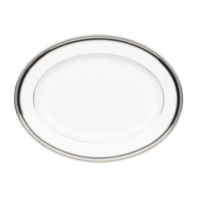 Noritake® Austin Platinum 12-Inch Oval Platter