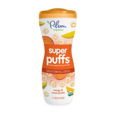 Food > Plum Organics™ Super Puffs™ - Orange Mango & Sweet Potato