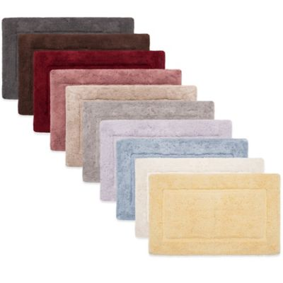 Plum COTTON Bath Rugs