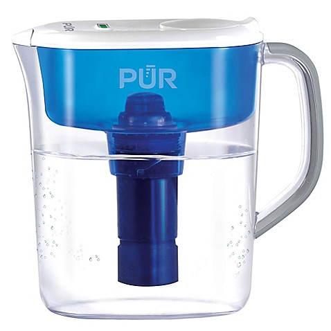 Pur 174 Ultimate 7 Cup Water Filtration Pitcher Bed Bath