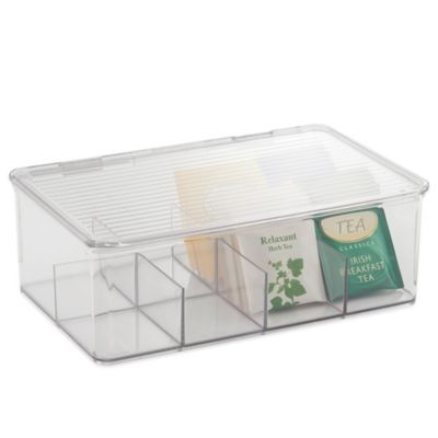InterDesign® Cabinet Binz™ Tea Box