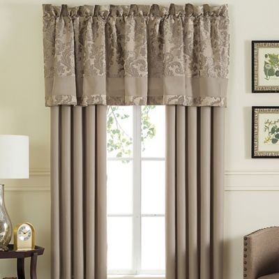 Champagne Window Valance