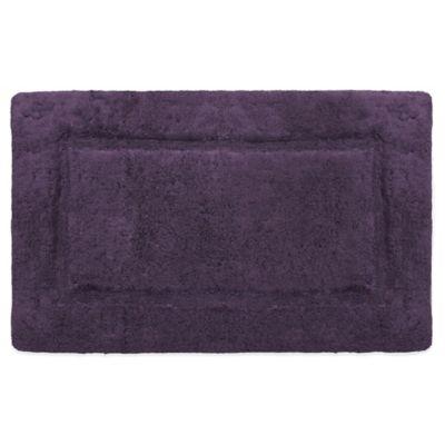 Plum COTTON® Bath Rugs