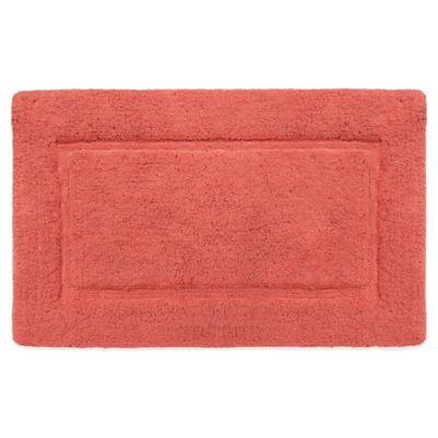 Wamsutta® Perfect Soft MICRO COTTON® 21-Inch x 34-Inch Bath Rug in Coral