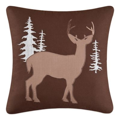 Hunter Square Throw Pillow