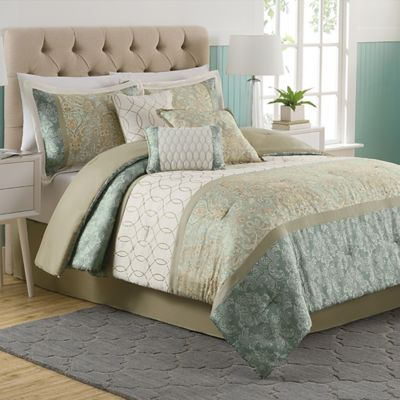 Dorado 7-Piece King Comforter Set