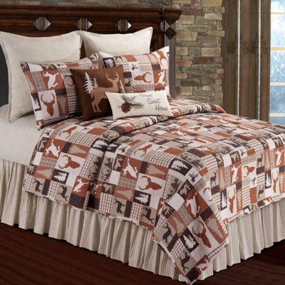 Hunter Reversible Full/Queen Quilt