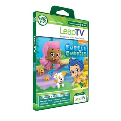 LeapFrog® LeapTV™ Nickelodeon Bubble Guppies Activity Video Game