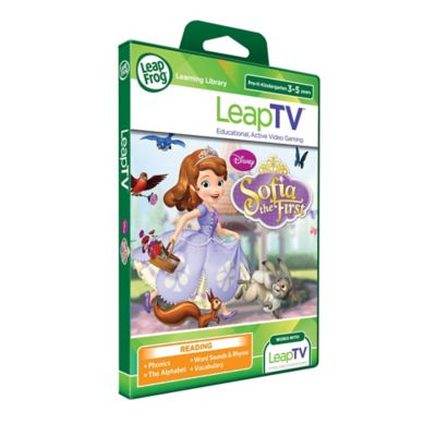 LeapFrog® LeapTV™ Disney® Sofia the First Active Video Game