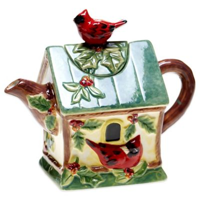 Certified International Winter Wonder Teapot