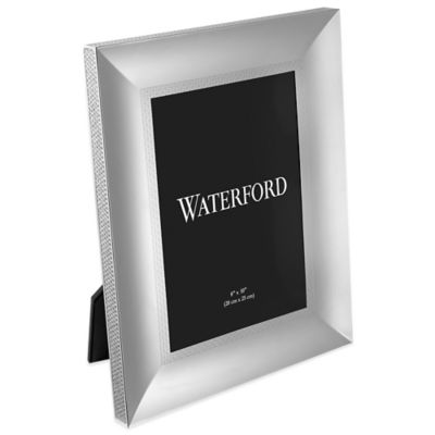 Waterford Lismore Diamond Silver 8-Inch x 10-Inch Frame