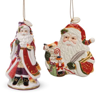 Fitz and Floyd® Regal Holiday 2014 Bell and Ornament Set