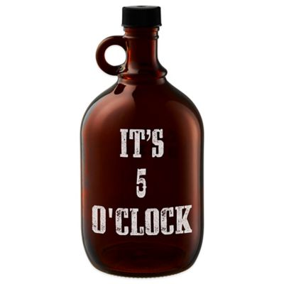 "Artland ""It's 5 O'Clock"" Beer Growler"