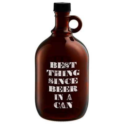 Dishwasher Safe Beer Growler