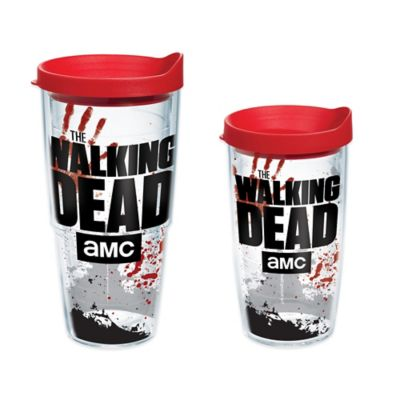 "Tervis® ""The Walking Dead"" Logo Wrap 16 oz. Tumbler with Lid"