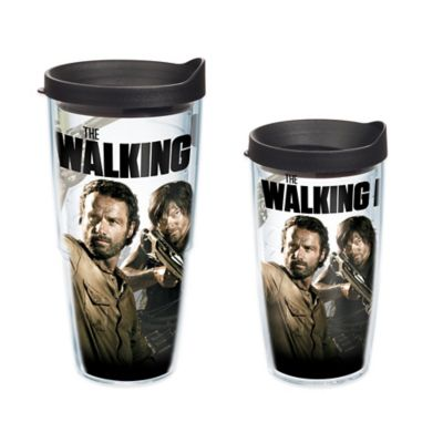 Zombies Wrap Tumbler with Lid