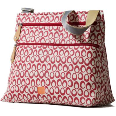 PacaPod Jura Diaper Bag in Cranberry