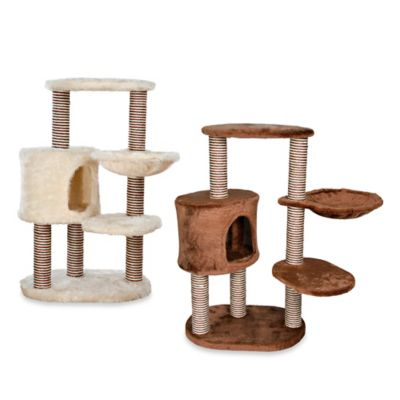 Trixie Pet Products Moriles Cat Tree in Cream