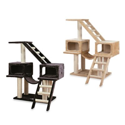 Trixie Pet Products Malaga Cat Playground in Dark Grey