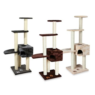 Trixie Pet Products Alicante Cat Tree in Grey