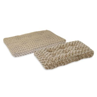 Midwest Quiet Time Extra-Small 22-Inch Pet Bed in Mocha