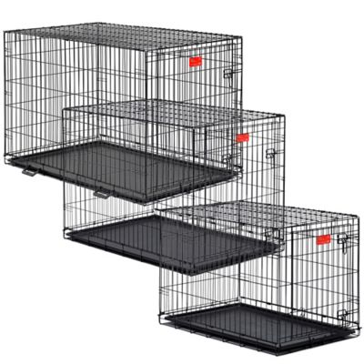 Midwest Life Stages 1636 1-Door Fold-and-Carry Crate with Divider