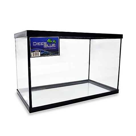 Buy deep blue professional fish tank with black frame from for Deep blue fish tanks