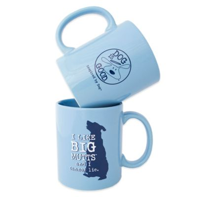 "Dog is Good® ""I Like Big Mutts"" Mug"