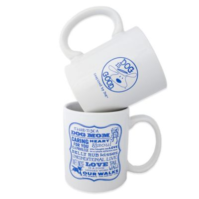 "Dog is Good® ""Dog Mom"" Mug"