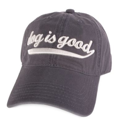 """Dog is Good"" Baseball Hat"