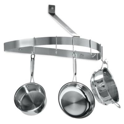 Cuisinart Universal Pot Rack Hooks in Brushed Stainless (Set of 6)