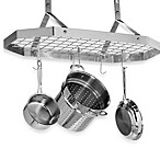 Cuisinart® Brushed Stainless Steel Octagonal Hanging Pot Rack