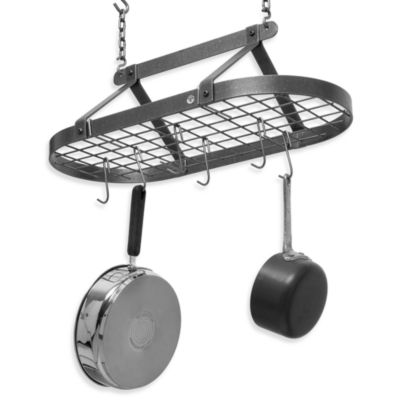 Steel Oval Pot Rack