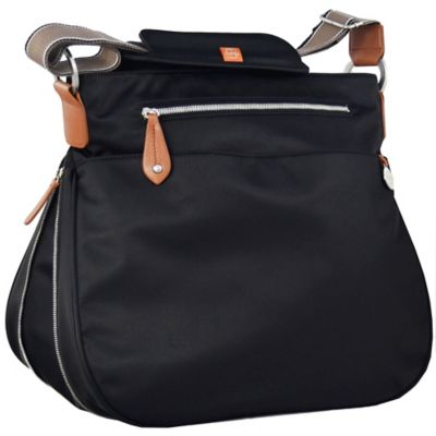 PacaPod Portland Diaper Bag in Black