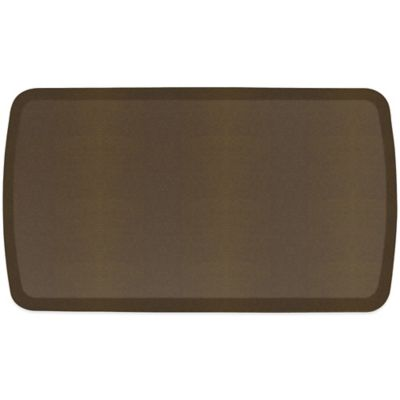 GelPro® Elite 20-Inch x 36-Inch Shagreen Floor Mat in Black Knight