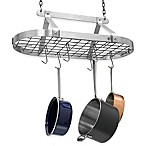 Enclume® Decor Classic Stainless Steel Oval Pot Rack