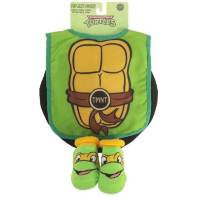 TMNT Bib and Bootie Set