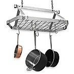 Enclume® Decor Retro Stainless Steel Rectangular Pot Rack