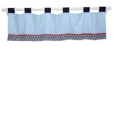 Nautica Kids® Whale of a Tale Window Valance